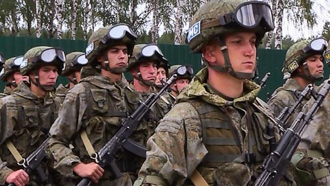 В Минобороны РФ рассказали об учениях бригады миротворцев в Таджикистане