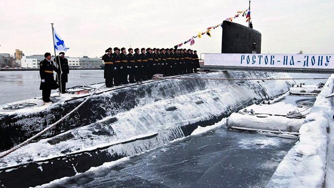 Подлодка «Ростов-на-Дону» вернулась в базу после учений в Черном море