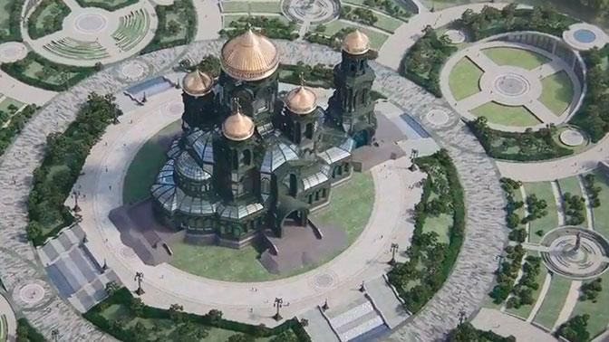 «Это место воинской чести»: бывший Главком ВВС поддержал строительство Главного храма ВС РФ
