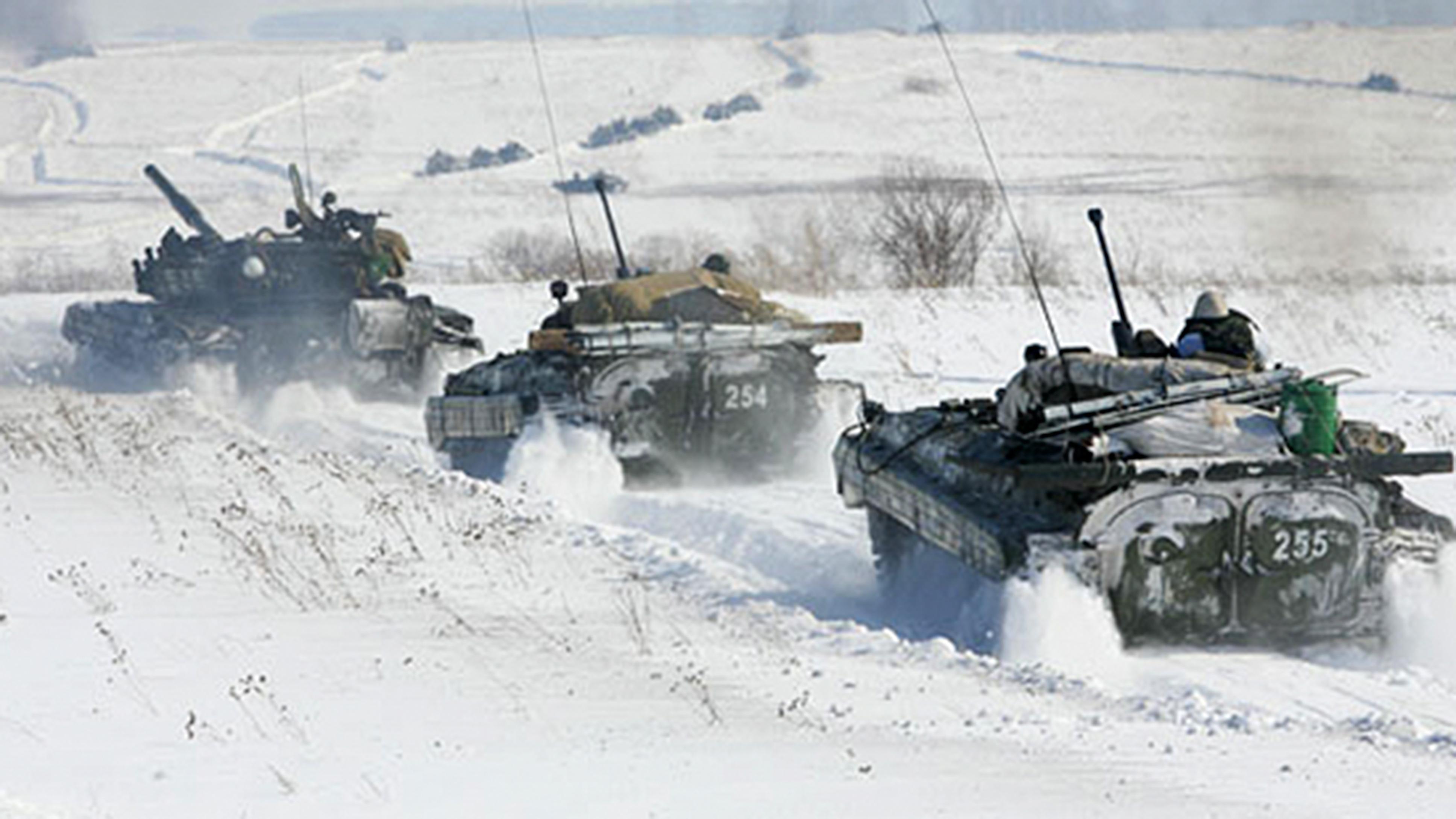 Более 2000 военнослужащих танковой армии ЗВО обеспечивали боеготовность в новогоднюю ночь