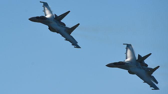 Авиаполк в ЗВО получил новейшие истребители Су-35