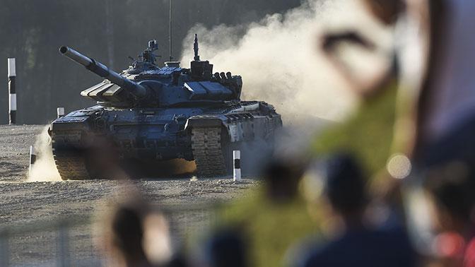 Женский экипаж впервые примет участие в «Танковом биатлоне»