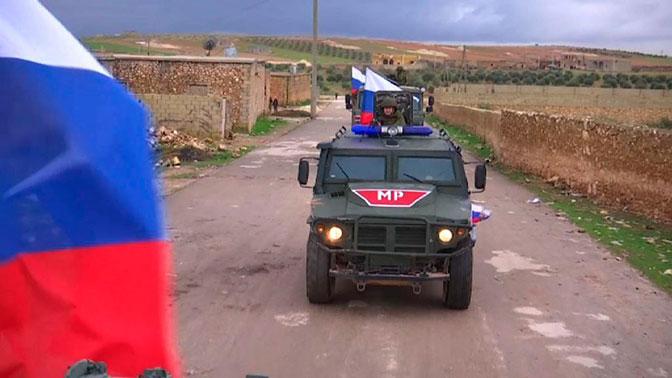 Военная полиция РФ провела патрулирование по двум маршрутам в районе сирийского Мембиджа