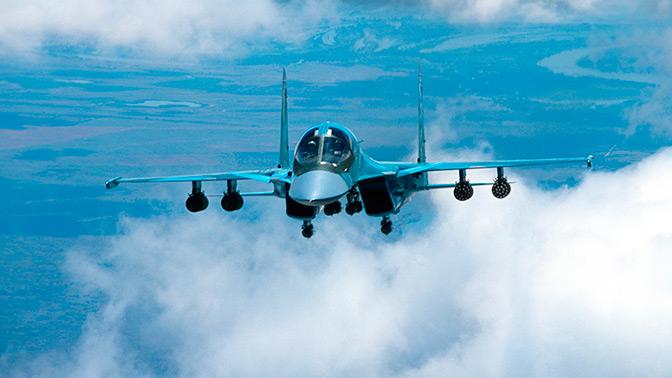 На далеком  Востоке Российской Федерации  столкнулись два истребителя