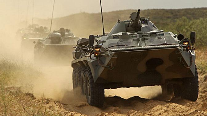 Трое российских военных погибли при падении БТР в ущелье в Абхазии