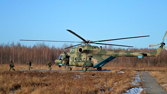 Аэромобильный десант задействуют на Ставрополье на учениях ЮВО
