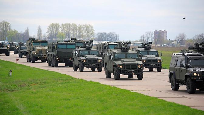 Десять бронеавтомобилей «Тигр» поступили на вооружение российской базы в Абхазии