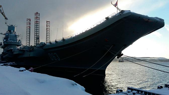 На флагмане ВМФ России прошла смена командиров