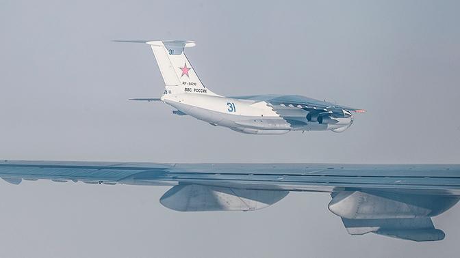 Строй «летающих танкеров»: экипажи Ил-78 провели сложное пилотирование в небе над Рязанью