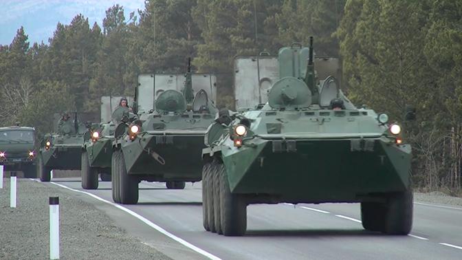 Военных подняли по тревоге в рамках масштабной проверки боеготовности