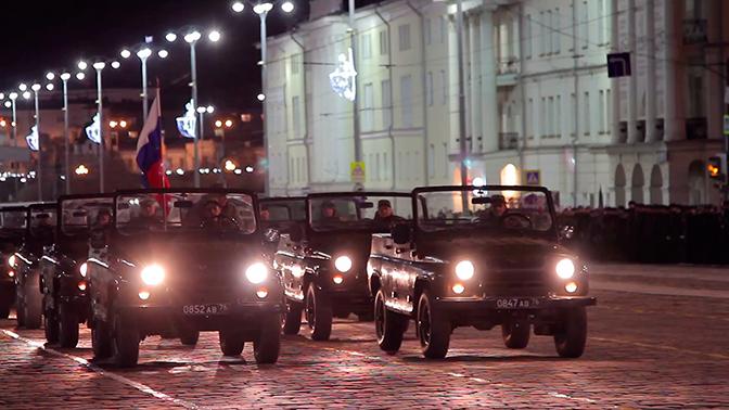 Первая репетиция парада Победы прошла в Екатеринбурге