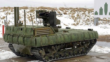 Танки-дроны и экзоскелеты: чем будут формироваться роты боевых роботов в российской армии
