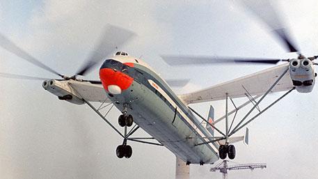 Самый большой вертолет в мире: как советский «Гомер» ошарашил США