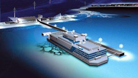 Испытания первой в мире плавучей АЭС начались в России
