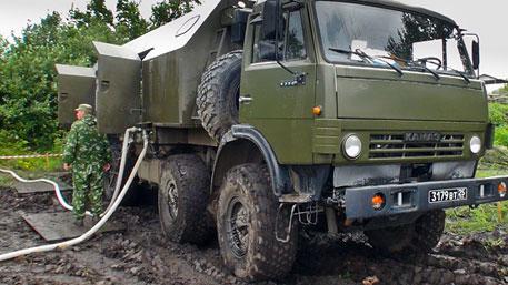 Войска ЦВО получили новую инженерную технику