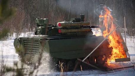 Адский «Богомол» и «Уран»-убийца: что могут российские военные роботы