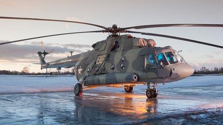 Партия военно-транспортных Ми-8МТВ-5-1 поступила в войска
