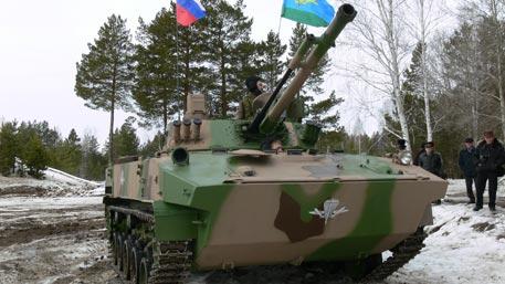 Новейшая БМД-4М «крылатой пехоты» уничтожит любой Abrams и Leopard