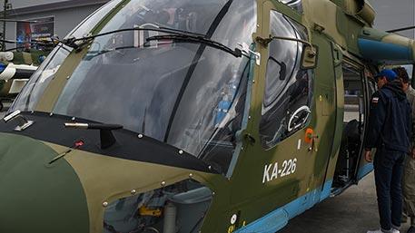 РФ и Индия создали СП по производству вертолетов Ка-226Т