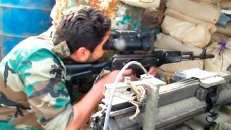 У бойцов сирийской гвардии замечены новейшие российские прицелы