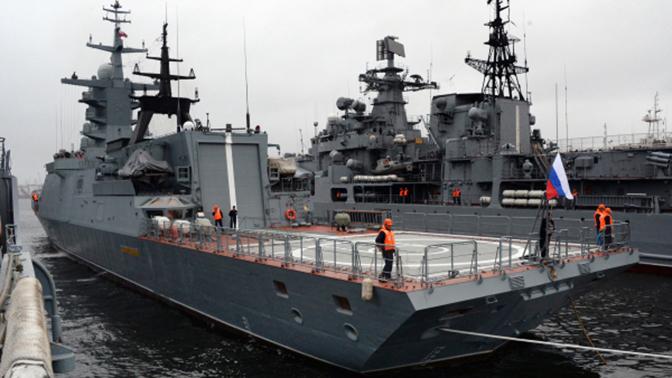 Корвет «Совершенный» торжественно передан Тихоокеанскому флоту