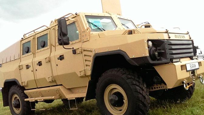 Испытания новейшего бронеавтомобиля: сможет ли «Буран» подвинуть с дороги «Тигра»