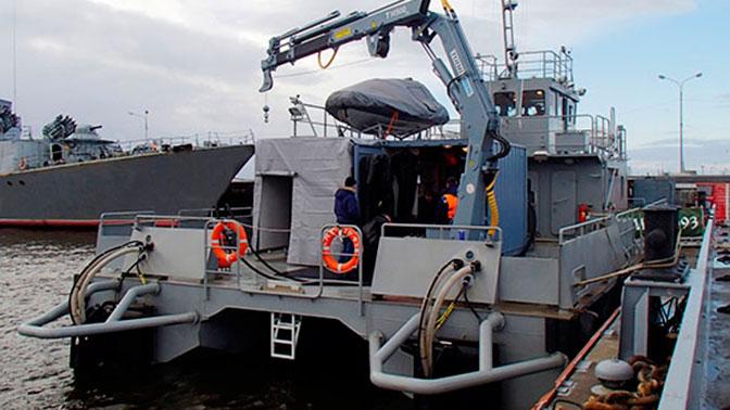 Первый модульный катер для ТОФ спустили на воду в Приморье
