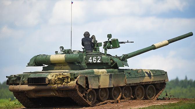 Российские танки Т-80 пройдут модернизацию