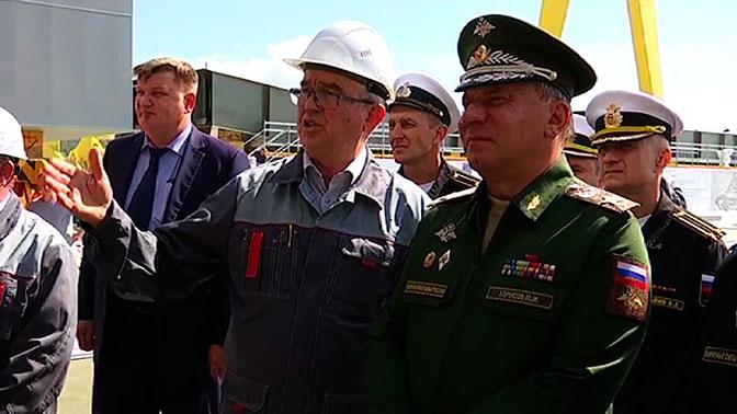 """Завод """"Звезда"""" в Приморье планируют ввести в эксплуатацию в 2024 году - вице-премьер Борисов"""