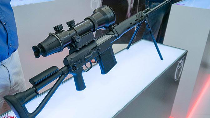 Новейшая снайперская винтовка «Точность» принята на вооружение ФСБ, ФСО и Росгвардии