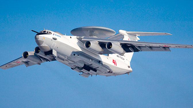 Российский самолет-разведчик А-100 совершил первый полет