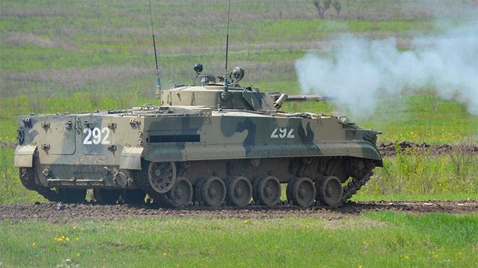 РЛС на базе БМП-3 поможет выживать зенитчикам