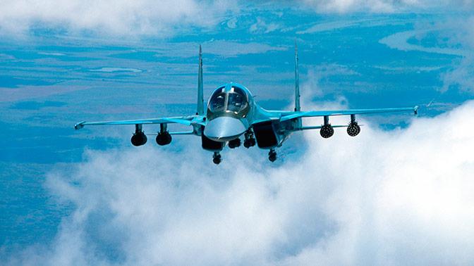 ВКС РФ передана новая партия бомбардировщиков Су-34