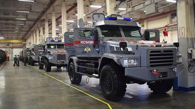 Росгвардия получила 10 бронеавтомобилей, изготовленных вНабережных Челнах