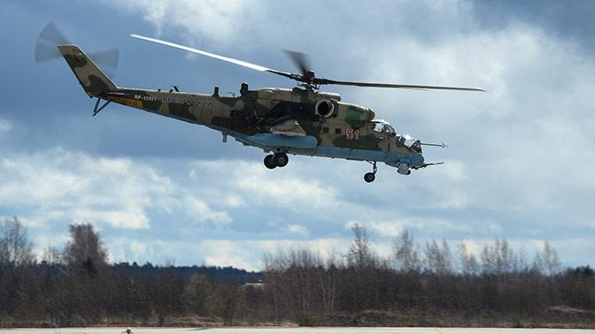 Россия поставит Узбекистану 12 вертолетов Ми-35 - СМИ