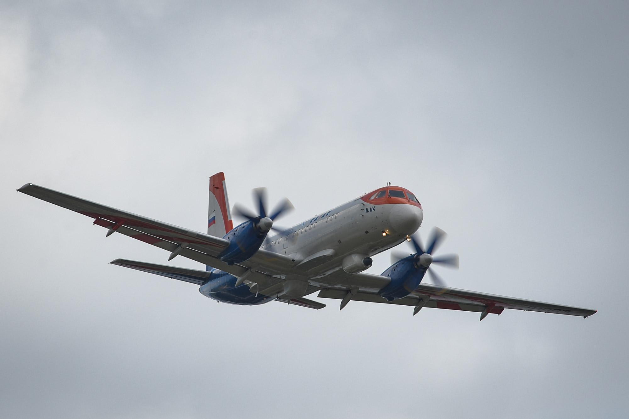 Парк региональных самолетов Красноярского края обновят шестью Ил-114-300