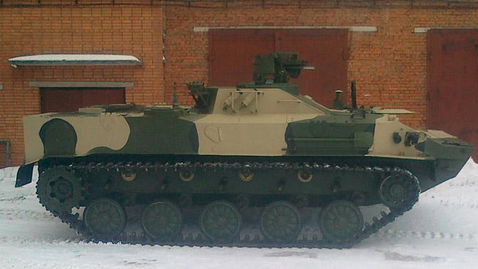 Войска ВДВ получили навооружение новейшую химическую машину