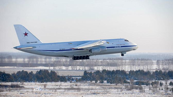 Модернизированный в России Ан-124 «Руслан» совершил первый полет
