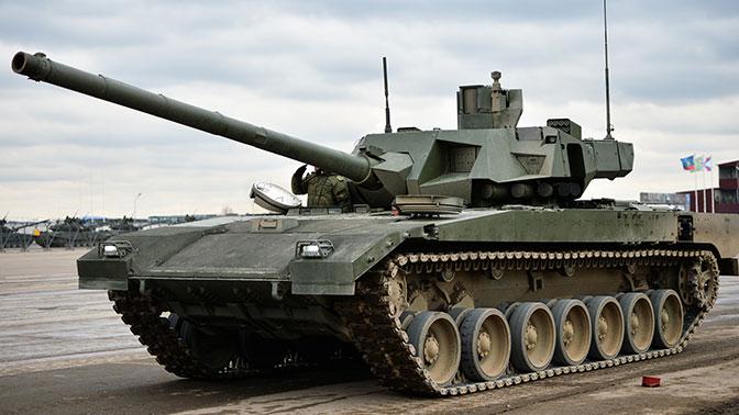 Первые танки «Армата» поступят в войска для опытной эксплуатации