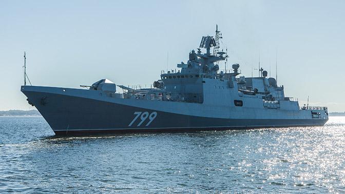 Новейший фрегат «Адмирал Макаров» передан Минобороны России