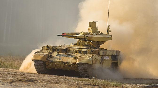 Поставка боевых машин «Терминатор» в войска запланирована на март