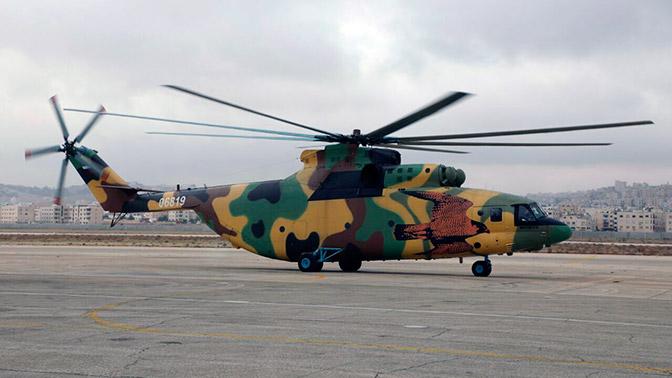 Фото первого Ми-26Т2 ВВС Иордании появились в сети