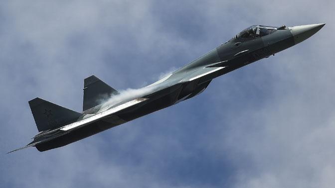 Су-57 начал практические полеты с новейшим оружием на борту