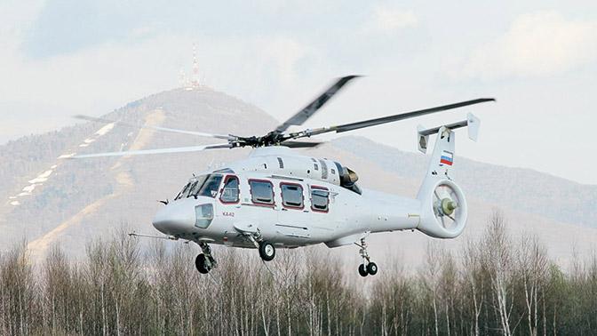 Вертолет Ка-62 получит шасси для посадки на палубу