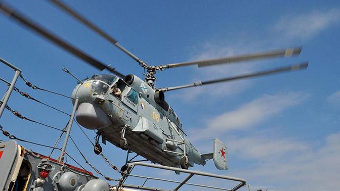 Морская авиация ВМФ получит 50 модернизированных вертолетов Ка-27