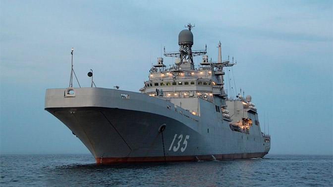Стало известно, когда большой десантный корабль «Иван Грен» сдадут ВМФ
