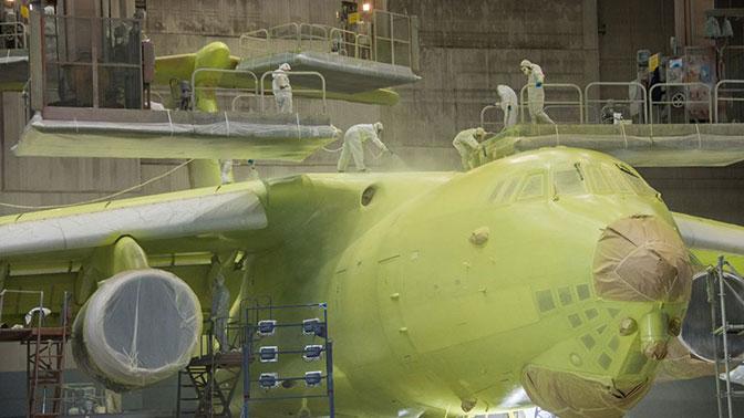 В Ульяновске готовят к испытаниям первый самолет-топливозаправщик Ил-78М-90А
