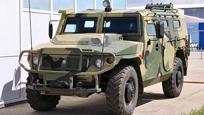 «Тигры» наши быстры: российский бронеавтомобиль прошел тест-драйв в Арзамасе