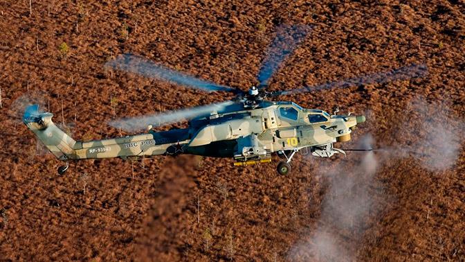 Ударный вертолет Ми-28Н доработали с учетом сирийского опыта