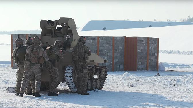 Специалисты «Калашникова» протестировали боевой робот «Нахлебник» ибагги «Росомаха»